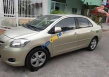 Bán xe Toyota Vios sản xuất 2007, màu vàng số sàn