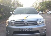 Bán xe Toyota Fortuner G sản xuất năm 2009, màu bạc, giá chỉ 665 triệu