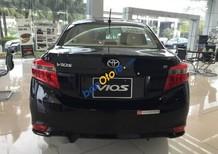 Bán xe Toyota Vios E sản xuất 2017, màu đen, 500tr