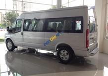 Bán Ford Transit Luxury sản xuất 2017, màu bạc