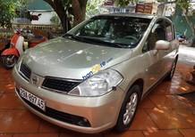 Bán Nissan Tiida MT đời 2007, màu vàng, xe đã đi 11 vạn km