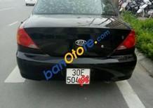 Cần bán gấp Kia Spectra sản xuất 2005, màu đen, 160tr