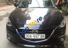 Cần bán lại xe Mazda 3 AT sản xuất 2015, màu đen chính chủ