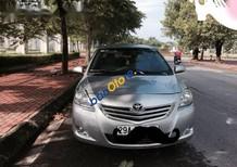 Cần bán gấp Toyota Vios E đời 2012, màu bạc, bảo dưỡng định kỳ