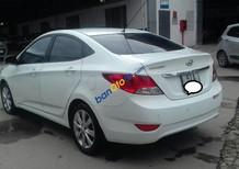 Cần bán Hyundai Accent 1.4MT sản xuất năm 2014, màu trắng, nhập khẩu nguyên chiếc còn mới, giá chỉ 465 triệu