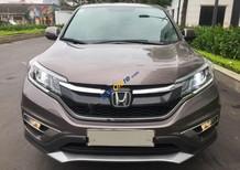 Bán Honda CR V 2.0 AT đời 2015, màu xám, xe chạy 2,6 vạn km chuẩn xịn