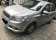 Bán Chevrolet Aveo 1.4 MT sản xuất năm 2014, màu bạc, giá tốt