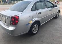 Cần bán gấp Chevrolet Lacetti MT năm 2012, màu bạc số sàn