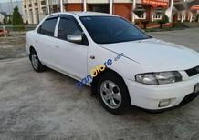 Chính chủ bán Mazda 323 đời 2000, màu trắng, nguyên bản sạch sẽ, sơn vỏ bóng đẹp