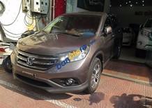 Cần bán lại xe Honda CR V AT sản xuất năm 2014, màu nâu