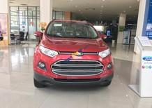 Bán xe Ford EcoSport Titanium đời 2017, màu đỏ