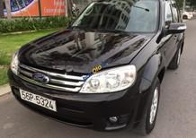 Cần bán xe Ford Escape XLS 2.3L 4x2 AT sản xuất 2010, màu đen xe gia đình
