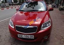 Bán ô tô Daewoo GentraX 1.2 năm sản xuất 2009, màu đỏ, xe nhập ít sử dụng