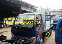 Bán xe tải Jac 2.4 tấn - xe tải Jac 2t4 - xe tải Jac 2.4 tân HFC1030K4