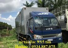 Bán xe tải JAC 9.1 tấn HFC1383K thùng dài 6.8m công nghệ Isuzu