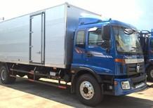 Xe tải Auman C160 thùng kín có bửng nâng hàng. Liên hệ 0936127807 hỗ trợ mua xe trả góp