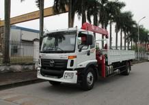 Xe tải Thaco Auman C160 gắn cẩu UNIC 5 tấn 5 đốt model URV555. Liên hệ 0936127807