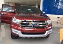 Bán xe Ford Everest Titanium 2.2L 4x2 AT sản xuất năm 2017, màu đỏ, nhập khẩu nguyên chiếc