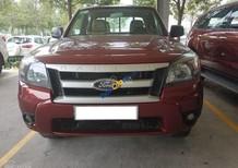 Bán xe Ford Ranger đời 2011, màu đỏ, nhập khẩu, xe 2 cầu