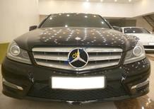 Bán Mercedes C300 Plus AMG đời 2013, màu đen, xe nhập
