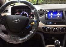 Bán xe Hyundai Grand i10 Sedan 2018, màu trắng, hỗ trợ trả góp 90% giá trị xe, hỗ trợ chạy Grab, liên hệ: 0911.377.773
