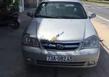 Cần bán lại xe Daewoo Lacetti EX 1.6 MT sản xuất 2007, màu bạc xe gia đình, giá 199tr