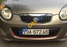 Cần bán lại xe Kia Morning sản xuất 2010, màu xám như mới, 290tr