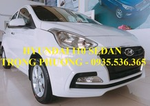 Hyundai Grand i10 sedan đà nẵng, LH : TRỌNG PHƯƠNG - 0935.536.365, hỗ trợ đăng ký Grab và vay 90% giá trị xe