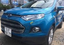 Bán Ford EcoSport Titatium năm sản xuất 2016, màu xanh lam, giá 558tr