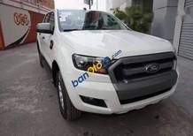 Bán Ford Ranger XL 2.2L 4x4 MT năm sản xuất 2017, màu trắng, 582 triệu