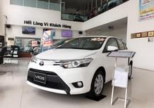 Bán xe Toyota Vios 1.5E 2018, màu trắng