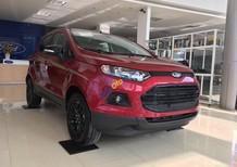 Ford Ecosport SVP Titanium màu đỏ sản xuất 2017, giao xe ngay & Hỗ trợ trả góp