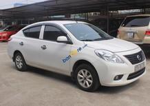 Cần bán gấp Nissan Sunny 1.5MT sản xuất 2013, màu trắng giá cạnh tranh