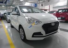 Bán xe Hyundai Grand i10 1.2MT Sedan lắp ráp đời 2018, màu trắng, mua xe chỉ từ 80 triệu đồng, LH: 0904675566