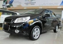 Cần bán xe Chevrolet Aveo 1.4L sản xuất năm 2017, màu đen