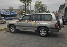 Cần bán Toyota Land Cruiser GX sản xuất 2004, màu bạc xe gia đình, 480 triệu