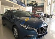 Bán Mazda 3 sản xuất 2017, màu xanh lam, 650tr