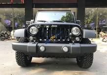 Bán ô tô Jeep Wrangler Unlimited năm 2017, màu đen, nhập khẩu