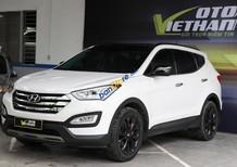 Cần bán Hyundai Santa Fe 2.4AT 4WD sản xuất năm 2015, màu trắng