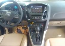 Bán xe Ford Focus Full ghế da, màn hình, DVD 1.5 AT Ecoboost Hatchback đời 2017, màu nâu, nhập khẩu 3 cục