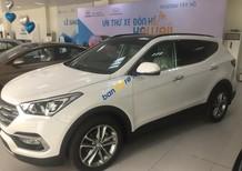 Cần bán Hyundai Santa Fe 2017, màu trắng