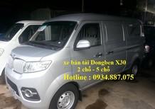 Bán xe tải van Dongben X30 490kg 5 chỗ ngồi đi vào thành phố giờ cấm tải
