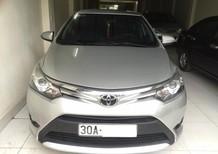 Cần bán lại xe Toyota Vios G 2014, màu bạc