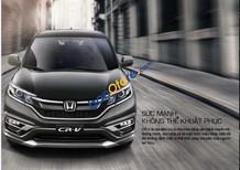 Bán Honda CR V 2.4L AT năm sản xuất 2017, màu xám