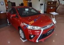 Bán ô tô Toyota Yaris G năm 2017, màu đỏ, nhập khẩu nguyên chiếc