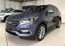 Giá xe Santafe Full xăng màu xanh đá, xe mới 100%, Giá 1 tỷ 290 bao gồm tất cả chi phí. LH Hương: 0902.608.293