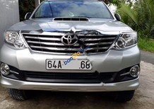 Cần bán gấp Toyota Fortuner 2.5G năm sản xuất 2015, màu bạc