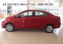 Cần bán xe Mitsubishi Attrage đời 2018, màu đỏ, nhập khẩu nguyên chiếc, 410tr