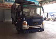 Xe tải JAC 3.45 tấn cabin vuông, động cơ isuzu bao đẹp, siêu tiết kiệm