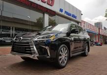 Cần bán Lexus LX570 sản xuất 2015, model 2016, màu đen, nội thất nâu